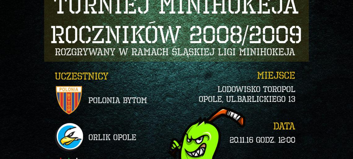 MINIHOKEJ – Turniej w Opolu