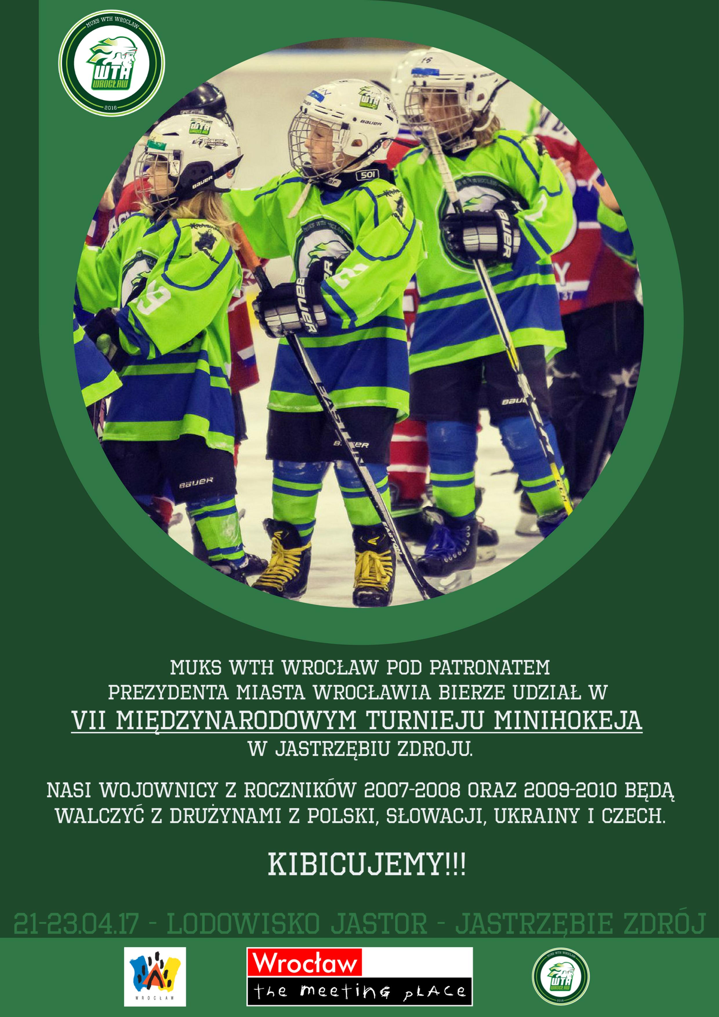 Międzynarodowy Turniej Minihokeja w Jastrzębiu